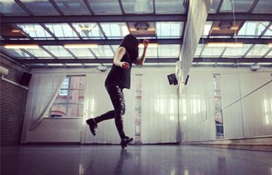 Ana Gudiño Aguilar Gastdozentin Tap Dance
