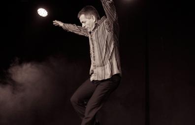 Josh Hilberman Gastdozent Tap Dance