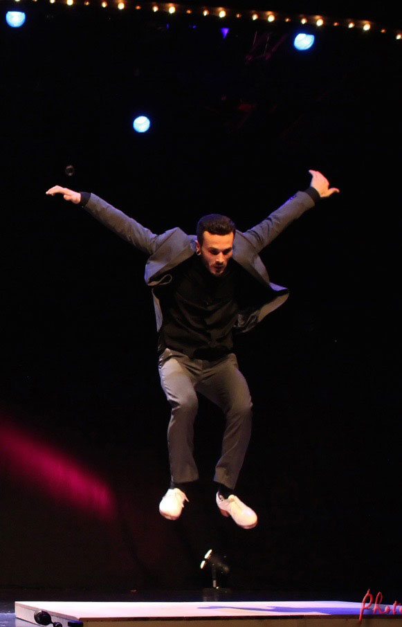 Nikolai Kemeny Gastdozent Tap Dance